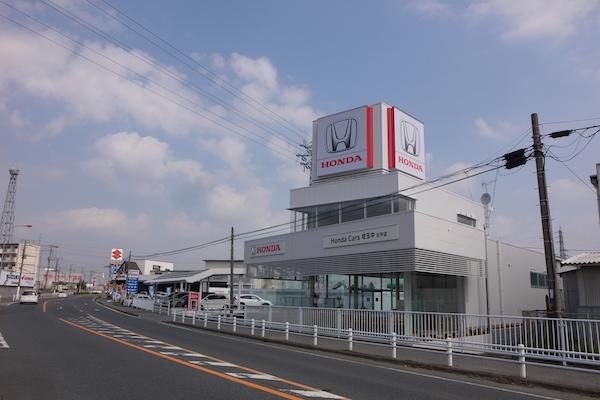 ホンダカーズ埼玉中 杉戸店新築工事