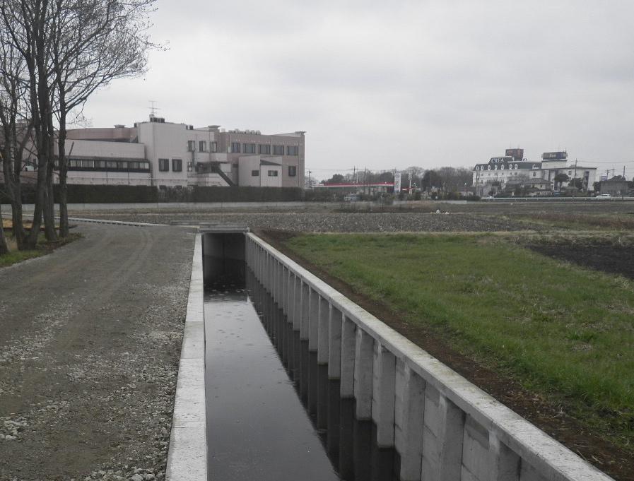 かんがい排水工事(馬込・蓮田)